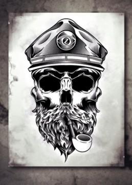 Cpt SkullZ by Zfanz Riccardo Fantechi