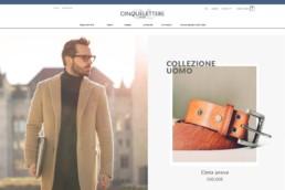 Cinquelettere sito roma web